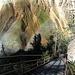 Ripide scalette di ferro sull'Uncle Tom's Trail