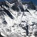 Nahaufnahme der Lhotse-Wand.