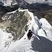 Pemba Sherpa und Karl Sommer auf den letzten Metern zum Gipfel des Island Peaks (6189m).