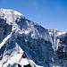 Schneerinnen an der Baruntse-Nordwand.