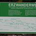 Eines der Schilder, welches die Dulnig'sche Bergbahn behandelt.