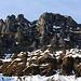 Foto von der zweiten Besteigung am 4./5.11.2012: <br /><br />Die Ostwand des Hohgant Furggengütsch (2196,9m).