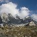 Die schöne gelegene Sciora-Hütte auf 2120m.