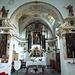 Altar und Apsis der Kirche von Verdabbio aus dem 17. Jahrhundert