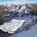 La cresta tra Toresella e Cardinello, che presenta, nel tratto centrale, in sequenza Cima di Gana Rossa, Punta di Valstorna e Cima di Paina