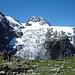 Petit Mt. Collon (3555 m.) mit Glacier du Mt. Collon