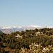 In den Alpes Maritimes liegt bereits etwas Schnee