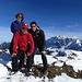 Gruppenbild mit Dame auf dem Stockberg
