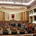 interno del parlamento di Tirana