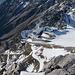 die Bergstation der Hafelekar-/Nordkettenbahn von oben aus betrachtet