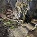 der spannende Abstieg hinunter - Le Gore Virat