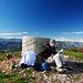 Am Gipfel der Cime de Baudon.
