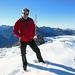 Finde mich - nicht erwartet für heute - am Gipfel des Fronalpstock wieder.