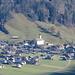 Zoom auf den Dorfkern von Schoppernau