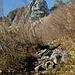 im Aufstieg zum Weiler Schrenit - mit dem Stöllen in Front