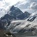 Blick auf's Matterhorn mit Zmuttgrat und Tiefmattengletscher