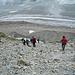 Abstieg am Stockji zum Tiefmattengletscher