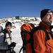 Erhard und Robert kurz unterhalb des Warscheneck-Gipfels