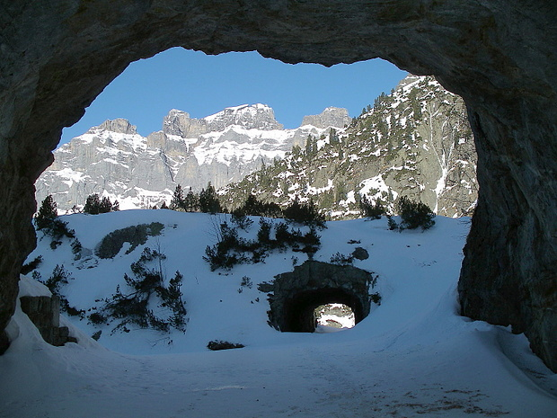 Tunnelblick auf die Wendenstöcke