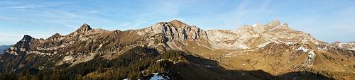 Panoramablick von der Hüenderegg