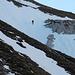 Im Ochsenreichkar sind einige beinhart gefrorene Schneefelder zu queren.