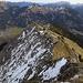Blick von der Krinnenspitze in Richtung Gaichtpass