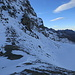 Winterliche Verhältnisse an der Fuorcla Vermunt/Vermuntpass