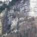 """Sieht nicht nach """"Wander""""gelände aus - da hoch führt die historische Route"""