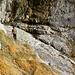Auf dem Weg in die Prallzone des Seerenbachfalls