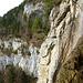 Hart am Wasserfall