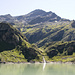 Lago di Robièi mit dem Poncione di Braga
