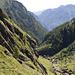 Von der Capanna Basòdino: Tiefblick in das Val Bavona