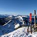 Hohgant West, vue vers le Trogenhorn