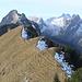 Glogger: Blick auf den westlichen Gipfel