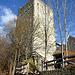 Der Burgfried - ganz oben mit Aussichtsplattform ... aber ab Ende Oktober leider geschlossen.