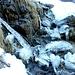 Ogni rigagnolo genera forme bizzarre di ghiaccio