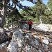 im Abstieg über den Holzknechtsteig