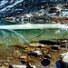 Der Grünsee mit Resteisbestand vom letzten Wintereinbruch.
