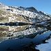 Schwarzsee mit Daberkögele und Riegelkopf.