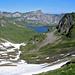 Melchsee, rechts der Melchseestock 2227m