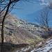 Kurz vor dem Gipfel des Monte Spelucco, Tiefblick nach Puria