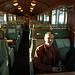 Le train du retour...en 2ème classe...