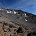 Blick zurück in Richtung Gipfel
