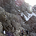 Gelände zur Vorderen Goinger Halt - hier gibts viele Aufstiegsoptionen mit etlichen Steinmandl