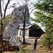 Kienthaler Hütte zu Füßen des Turmsteins