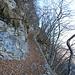 Interessant angelegter Weg hoch zur Alpe di Grona