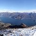 Unerhört schöne Aussicht vom Gipfel des Monte Crocione
