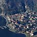 Vom Monte di Lenno sieht man Porlezza eindrücklicher als Lenno...