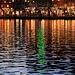 Die Weihnachtsbeleuchtung von Lugano erhellt die Finsternis