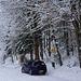 Winterliche anfahrt zum Pt 769